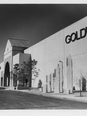 Goldwaters Department Store at the corner of Camelback