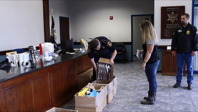 BPSO collected nearly 200 pounds of drugs on Saturday.