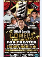 The Comedy Bash and Fundraiser will be Nov. 11.