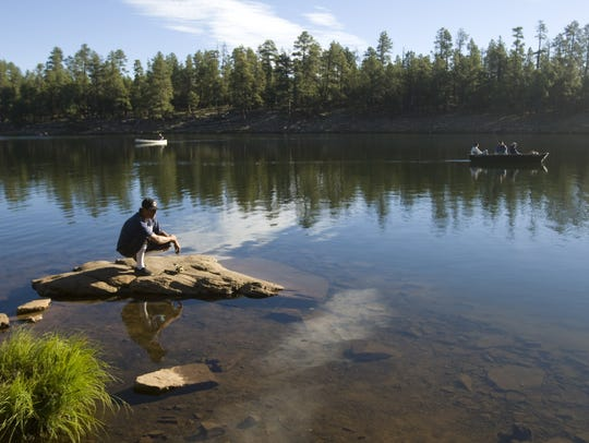 Woods Canyon Lake, Mogollon Rim | If Lynx Lake had