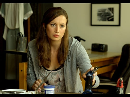 "Libby Ewing in the short film ""Misora Misery."" Ewing"