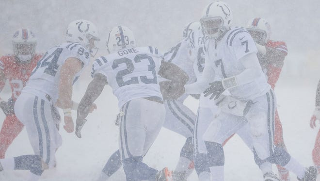 Colts Still Thawing Out After Epic Snow Game In Buffalo