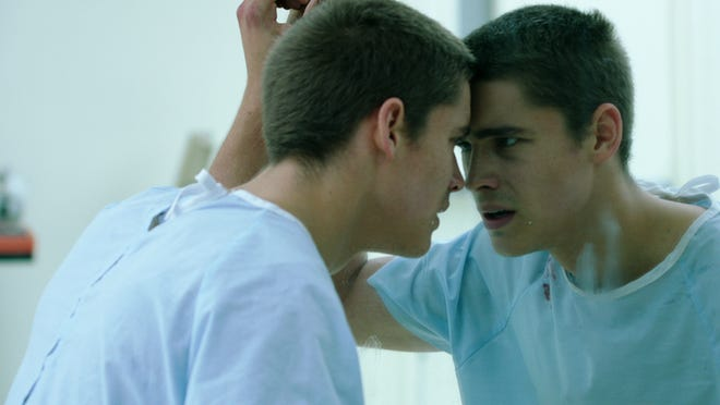 "Brenton Thwaites as Nic Eastman in a scene from the motion picture ""The Signal."""