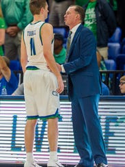 FGCU fourth-year starting guard Christian Terrell and