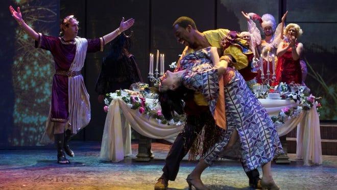 "The Arizona Theatre Company's production of ""Romeo and Juliet."""