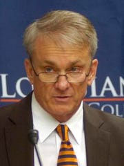 Louisiana College athletics director Dennis Dunn