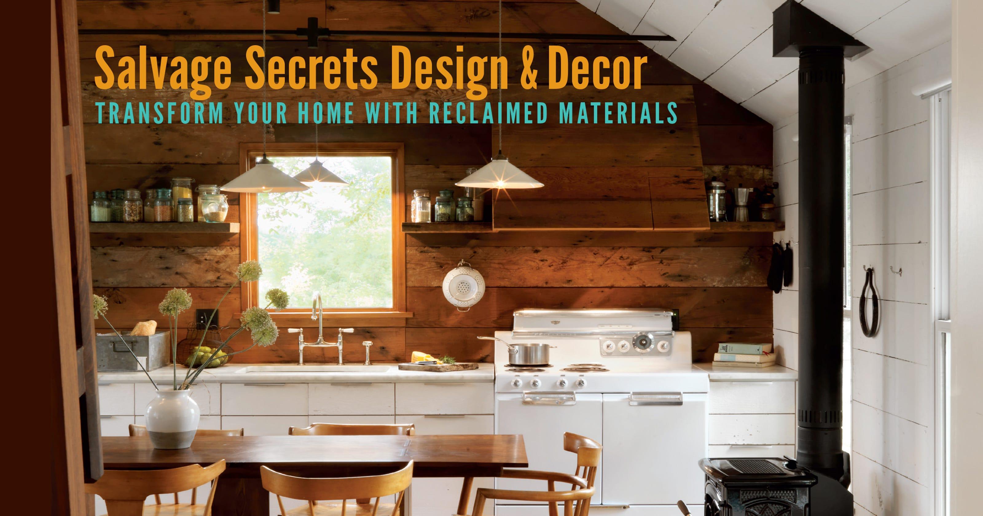 Arizona Homes Featured In Salvage Secrets Design Book