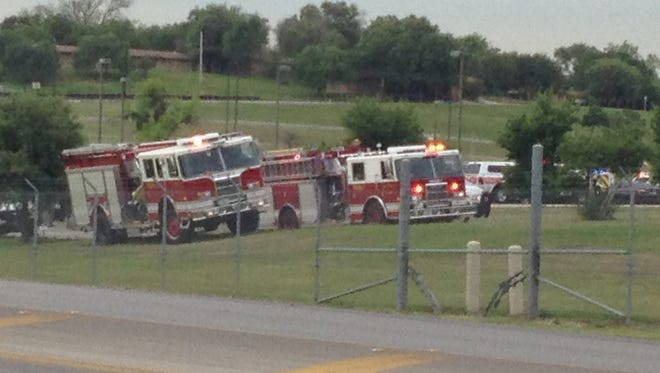 Law enforcement and firefighters responded to reports of an active shooter at Lackland Air Force Base in San Antonio.