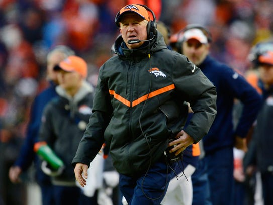 John Fox was 49-22 with four AFC West crowns in four