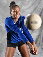 All-Midstate volleyball Logan Eggleston, Brentwood