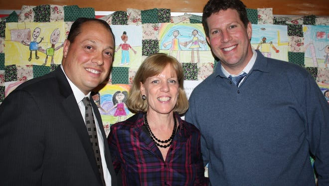 Joseph Mosey, Mary Foster and David Fine