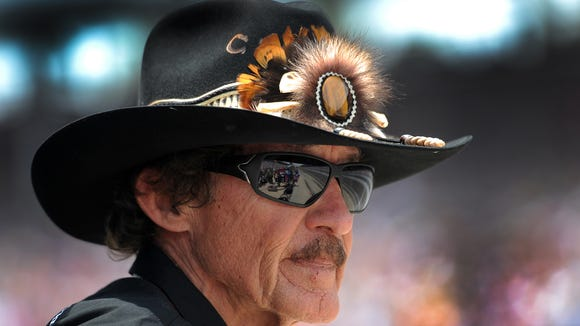 Richard Petty at the 2011 Indy 500.