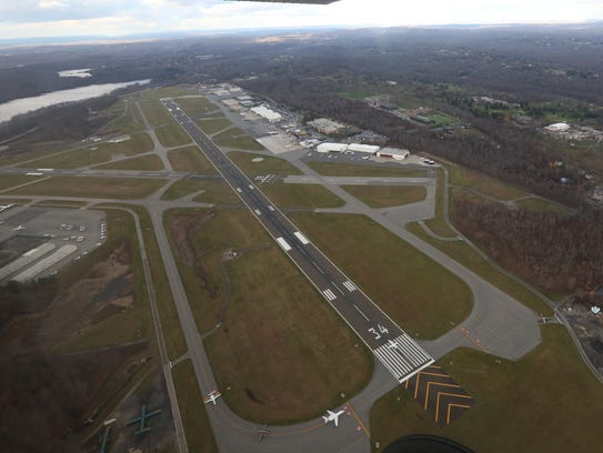 Westchester County Airport, an aerial view from Dec.