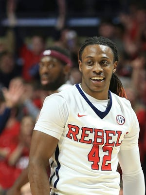 Ole Miss guard Stefan Moody was named first-team All-SEC by the AP on Monday.