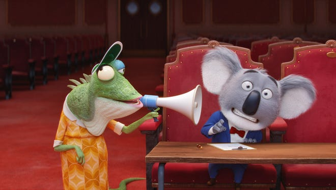 """Matthew McConaughey is the voice of koala Buster Moon in """"Sing."""""""