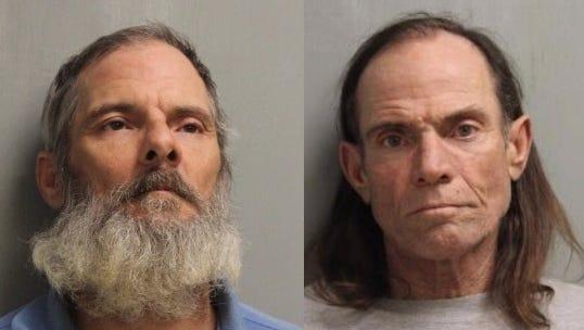 Kevin Paul Hebert (left) and William Paul Hebert Sr.