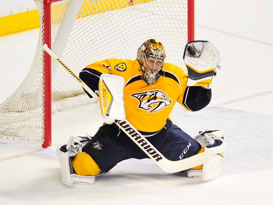 Goalie Pekka Rinne bounced back from a trying 2013-14