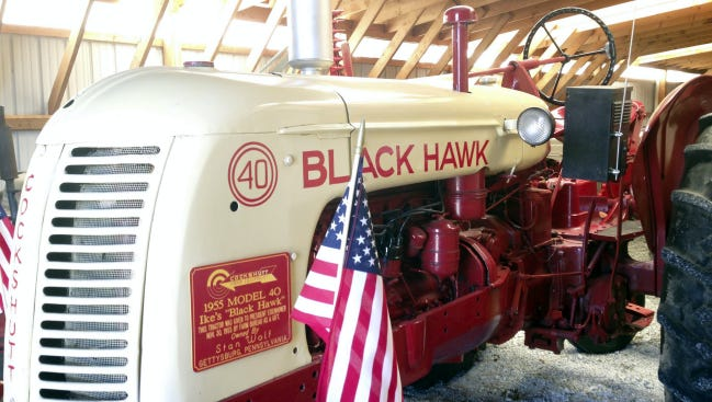 The nonprofit Gettysburg Foundation will donate President Dwight Eisenhower's Cockshutt Black Hawk Model 40 Tractor and Cultivator to the Eisenhower National Historic Site in Gettysburg. The tractor is one of several items the foundation recently announced it would be donating.
