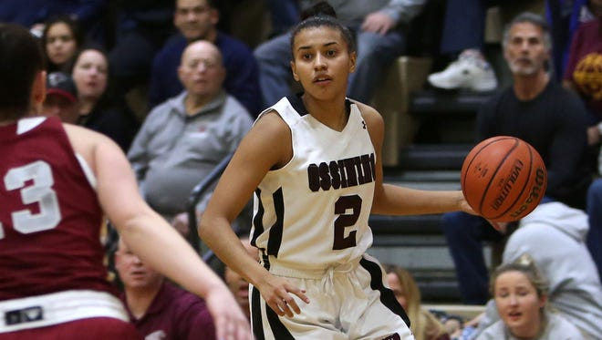 Ossining's Andra Espinoza-Hunter was named a finalist for Miss New York Basketball. Feb. 1, 2017.