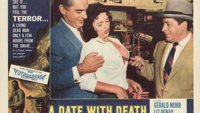 """""""A Date with Death"""" (1959), starring Gerald Mohr and Liz Renay was filmed in Roswell, N.M."""