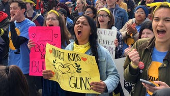 Wisconsin students marched from Madison to Janesville, House Speaker Paul Ryan's hometown. The march ended with a rally in Traxler Park. The students had slept in high school gyms and other predetermined locations on the trip.