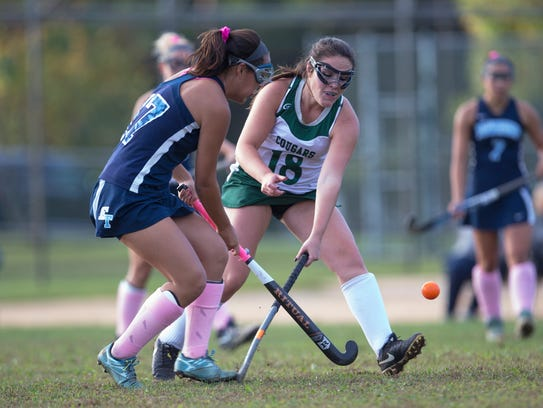 Frehold Township's Elena Andreyev and Colts Neck's
