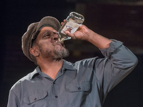 "Ronald McCall as Troy Maxson in rehearsal for ""Fences"""