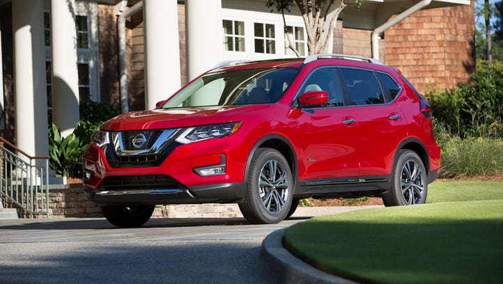 The Nissan Rogue Hybrid, the newest addition to the