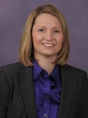 Northwestern State women's basketball co-coach Brooke Stoehr