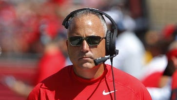 Rutgers coach Kyle Flood suspended 3 games, fined $50,000