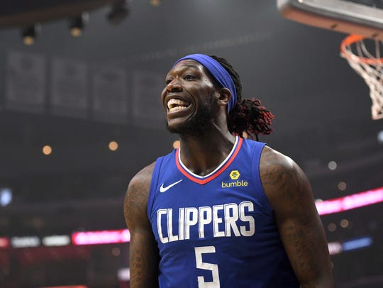 Los Angeles Clippers forward Montrezl Harrell talks