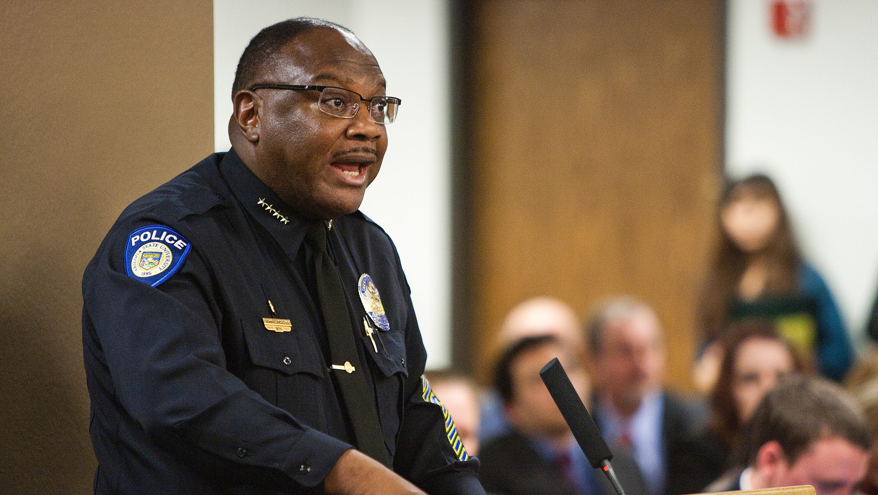 Asu Police Chief John Pickens To Step Down Early