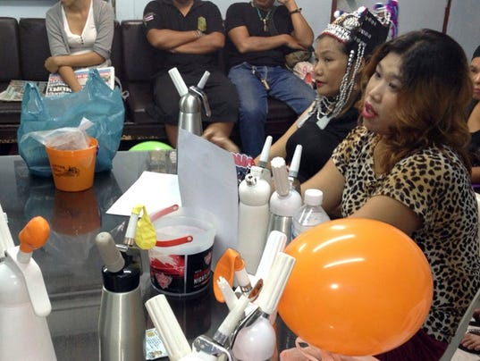 Thailand Laughing Gas Balloons