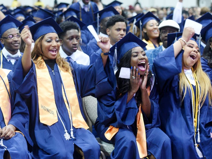 Huntington High School graduation Saturday afternoon