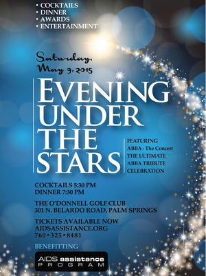 """The 22nd annual Evening Under the Stars gala will feature """"ABBA - The Concert."""""""