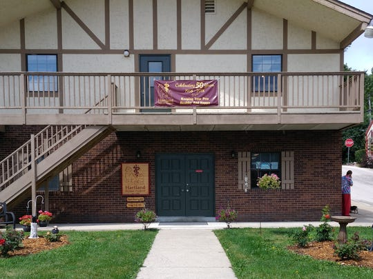 A view of the Hartland Animal Hospital's current building at 140 North Ave. in Hartland, built in 1974. The hospital was founded by Ken and Gerry Schumann in 1968 in an 800-square-foot former service garage. The animal hospital will be celebrating its 50th anniversary from noon to 3 p.m. Saturday, Sept. 29.