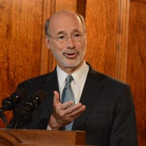 Power sharing between Wolf, GOP enters new territory
