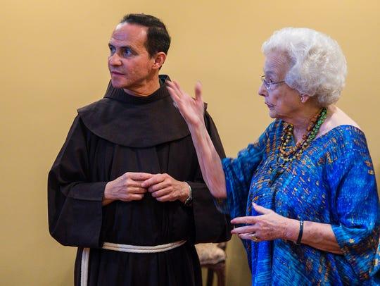 The Rev. Stefano M. Cecchin, OFM, vice postulator of