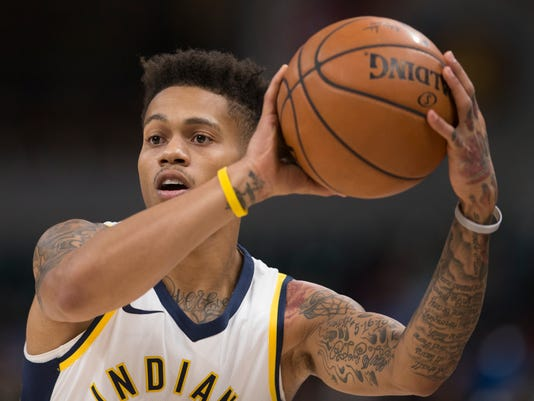 Pacers Point Guard Joe Young Sleeps Overnight On Floor Of