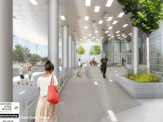 Artist's rendering of changes to VA Sierra Nevada Health Care System in Reno.