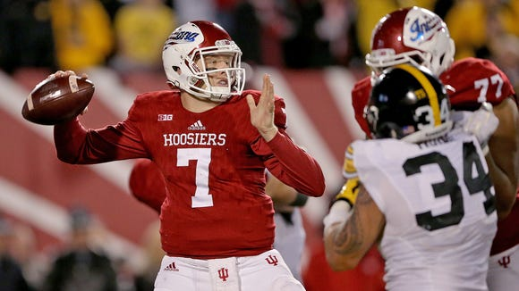 Nate Sudfeld graduated as IU's all-time leading passer.
