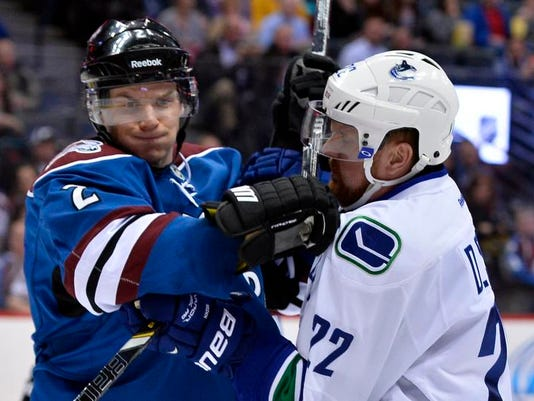 Canucks Avalanche Hockey