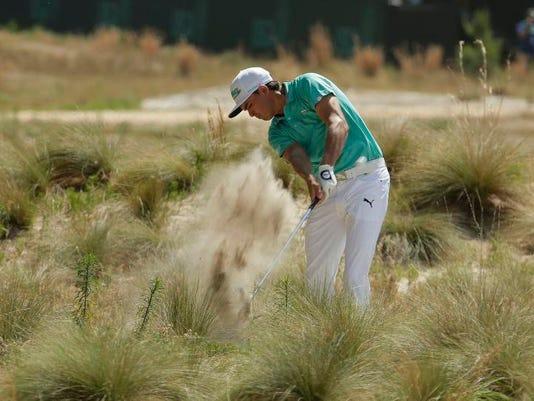 APTOPIX US Open Golf