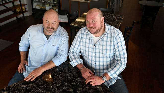Chris Chwirut and Kristian Morgan are owners of Pork Belly Cafe in Lennox Village. Chwirut and Morgan are looking forward to opening their next restaurant, the Tipsy Pig, in Nolensville's Carothers Farms subdivision. The restaurant will be on the first floor of the live-work townhome, and the manager will live upstairs.
