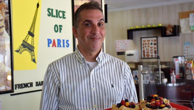 Salah Fekih, owner of Slice of Paris.
