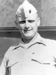 Donald Cook served in the Marine Corps after his 1956