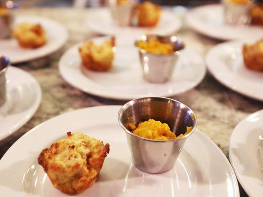 Great Lakes's Chef Reva Constantine prepared Butternut