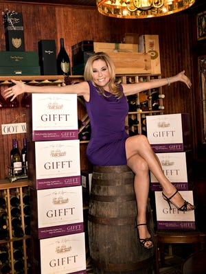 Kathie Gifford has gone grape and created a pair of her own wines, a chardonnay and a red blend.