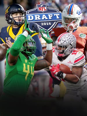 A look at USA TODAY Sports' 2016 NFL mock draft.