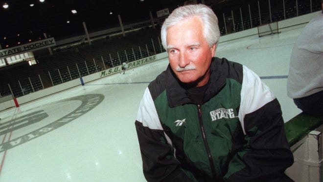 Former Michigan State hockey coach and athletic director Ron Mason died June 13. He was 76.